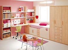 Great idea bedroom decor pink nuances for kids