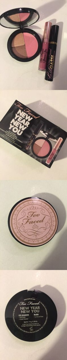Makeup Sets and Kits: Too Faced New Year New You Trio Lashgasm Glamour Gloss Sex Pot Blush Eyeshadow -> BUY IT NOW ONLY: $32.99 on eBay!