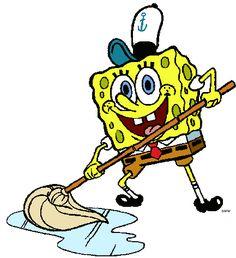 Spongebob will never stop loving his job.