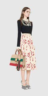 Gucci Look 10 - 여성, 2016 가을/겨울 패션쇼 컬렉션