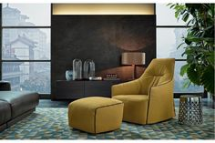 Santa Monica Lounge Armchair by J. M. Massaud for Poliform | Poliform Australia