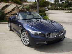 I fell in love with this car the first time I saw it- the next day I was at the dealership buying the exact one in the add (2009 deep sea blue with white napa leather and suede interior)- most beautiful car ever, and so fun to drive..... Blue BMW Z4   http://SelectLuxury.com/