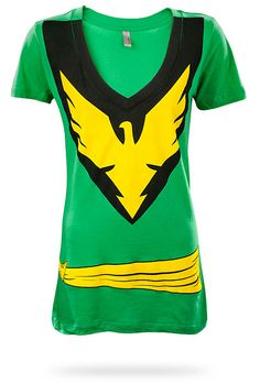 ThinkGeek :: Jean Grey Phoenix Costume Babydoll