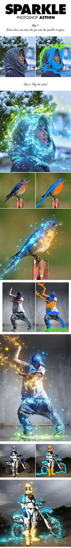 15-Sparkle Photoshop Action