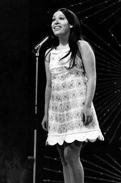 Massiel - Spain, winner of the Eurovision Song Contest 1968