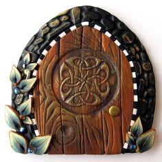 Knotwork Tooth Fairy Door. $18.00, via Etsy.