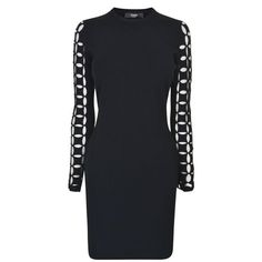 Versus Versace | Slit Sleeve Dress