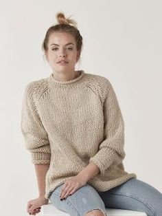 Chunky knit sweater, Bulky Sweater, Alpaca wool sweater, Plus size sweater, Oversize swea Rowan Knitting Patterns, Jumper Knitting Pattern, Jumper Patterns, Plus Size Sweaters, Sweaters For Women, Plus Size Pullover, Big Wool, Oversize Pullover, Big Knits