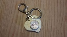 """White heart snap keychain with browing buck pink camo snap """"i'm a country girl""""...deer hunting by CamoAndAmmoBoutique on Etsy"""