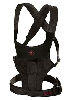 6902e58983d Structured Fit Baby Carrier by Belle Black Microsuede -- Click image to  read more details
