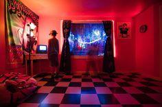 Meow Wolf Santa Fe, Installation Art, Neon Signs, Cinematography, Instagram, Image, Design, Cinema