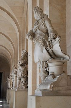 French nobles, Versailles France | alouao.com