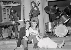 The Grateful Dead at a debutante ball, September 1966.