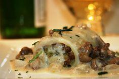 Paccheri con Funghi e Salsiccia al Forno, la Serie A della bontà: un primo piatto straordinario ed ottimo in particolare per le occasioni di festa
