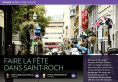 Faire la fête dans Saint-Roch - La Presse+ Saint Roch, Parvis, Broadway Shows, Coin, Road Trips, Travel, Partying Hard, Catering Services, Viajes