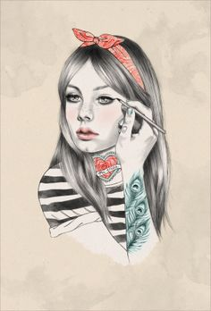 Emma Zanelli #illustration #painting #drawing