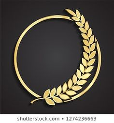 Find Laurel Wreath Circle Golden Logo stock images in HD and millions of other royalty-free stock photos, illustrations and vectors in the Shutterstock collection. Thousands of new, high-quality pictures added every day. Circle Logo Design, Circle Logos, Logo Boulangerie, Logo D'art, Law Firm Logo, Cnc Cutting Design, Golden Logo, Design Art, Graphic Design