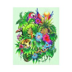>>>Order          Jungle Wild Animals and Plants   Stretched Canvas  Gallery Wrap Canvas           Jungle Wild Animals and Plants   Stretched Canvas  Gallery Wrap Canvas in each seller & make purchase online for cheap. Choose the best price and best promotion as you thing Secure Checkout you c...Cleck Hot Deals >>> http://www.zazzle.com/jungle_wild_animals_and_plants_stretched_canvas-192981020032934949?rf=238627982471231924&zbar=1&tc=terrest