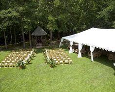 tent... outdoor wedding