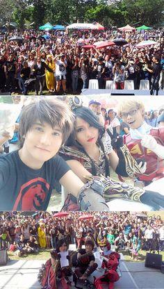 trisha248: Yo effiiiiin loooove Cebu City! Asdfghjklasdfg !!! \ (((* 0 *))) / Omgee! Waaaaaa !!! Así loco y divertido aquí !!! Asgdjdkfldl! La piel de gallina Extreme todo mi boddeeh !!! Gracias tan mucho por yar supppeeer caliente / hirviendo bienvenida caliente! Imagínese que es como WorldWarZ !!! Felizmente corriendo y gritando por todos lados! Hahahahahasdfghjkl! Yo looove la multitud aquí ♡ (Tut) ♡ ~ Liui Aquino Liui Aquino, Cebu City, Httyd, Cosplay, Goose Bumps, Hilarious, Thanks, Cebu