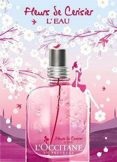 BEM-VINDO AO E.S.P FASHION BLOG BRASIL: L`Occitane en Provence Fleurs de Cerisier L`Eau