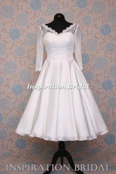 1550 robe de mariée courte mariage Neuf blanche ivoire taille 8 10 12 14 16 18