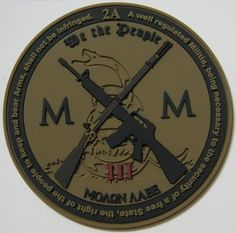 Modern Musket PVC Patch | Tactical Outfitters