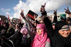 Egypt Women Protest