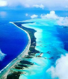 @_borabora -  Paradise from the sky....who wants some?