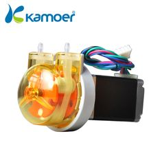 56.00$  Buy now - http://alirdh.worldwells.pw/go.php?t=1850469233 - Kamoer micro peristaltic pump with 24 V stepper motor