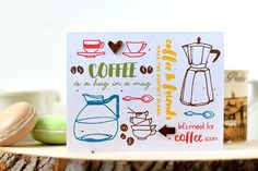 To all you coffee addicts, this new stamp set is just perfect for you. It's called Cofee Love. Check out our blog for more info. www.altenew.com