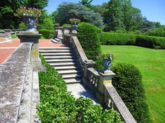 Old Westbury Gardens Old Westbury Gardens, Garden Steps, Beautiful Places, Sidewalk, Relax, Exterior, Gilded Age, Patio, Explore