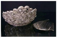 Imelda Marcos' Tiara, Other Jewels to Go on Display Diamond Tiara, Diamond Studs, Studded Belt, Royal Jewelry, Tiaras And Crowns, Crown Jewels, Headpiece, Jewelry Collection, Gems