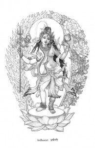 Parvati Shiva As Half Man Half Woman PRINT LOW RES