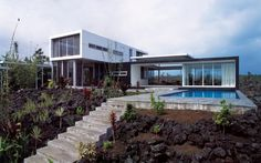 The Robert Trickey House - Designed by Craig Steely Architecture (Hawaii)