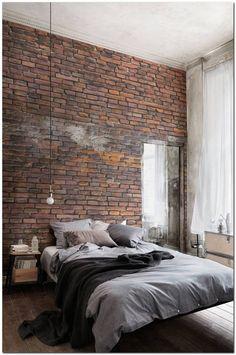 Industrial Bedroom Interior (14) – The Urban Interior