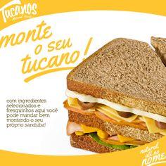 Perfeito mesmo é poder criar seu próprio sanduba!