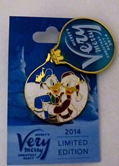 Disney Mickeys Very Merry Christmas Party 2014 Pin Donald  Daisy Duck Le 4000 ** You can get additional details at the image link-affiliate link.