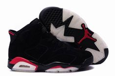 the best attitude 16ffc b89d8 Air Jordan 6 VI Retro Deep Infrared Black Shoes air jordan 6 retro shoes