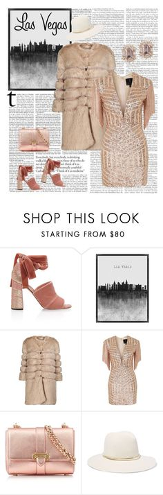"""""""Vegas Baby"""" by stavrolga ❤ liked on Polyvore featuring Rochas, Grandin Road, AINEA, Topshop, Aspinal of London and Janessa Leone"""