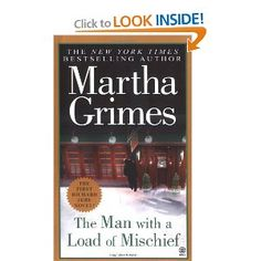 These Martha Grimes' Richard Jury series take up one shelf on my bookshelves. I love her characters, the English pubs, and the village of Long Piddleton. Would love to live in Long Piddleton & hang out at the Jack and Hammer. -- says another pinner