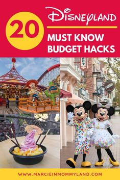 Trying to save money at Disneyland? Find out my top 20 Disneyland budget hacks for maximizing fun (without spending a … Disneyland Restaurants, Disneyland Tickets, Disneyland Vacation, Disney Hotels, Disneyland Tips, Disney Tips, Disneyland Paris, Disney Vacations, Disneyland California