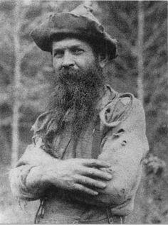 Benjamin Vernon Lilly, another mountain man!