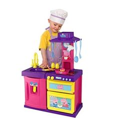 Peppa Pig Cook and Play Kitchen Toys R Us, Peppa Pig, Toy Store, Minions, Toy Chest, Storage Chest, Lego, Cook, Play