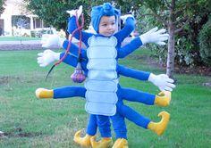 Cute Alice in Wonderland caterpillar- 15 Amazing DIY Halloween Costumes for Kids - ParentMap