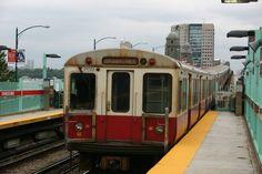 Photo of MBTA Red Line Train Departing Charles/MGH