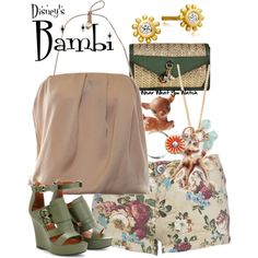 Inspired by Disney's 1942 animated film, Bambi.