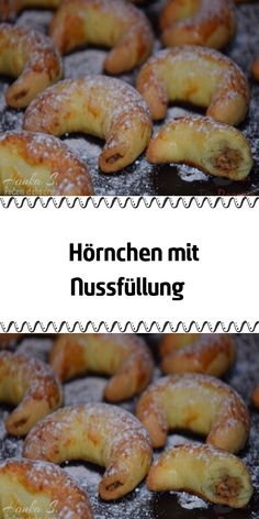 Squirrel with nut filling - Backen - Paleo Recipes, Cookie Recipes, Sweet Bakery, Croissants, Relleno, Bagel, Sausage, Food And Drink, Yummy Food