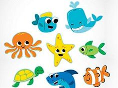 Under The Sea Jumbo Cutouts - Party Supplies Canada - Open A Party Alphabet Wall Cards, Alphabet Nursery, Abc Alphabet, Cubby Tags, Summer Bulletin Boards, Ocean Crafts, Teaching Supplies, Teaching Ideas, Banner Backdrop