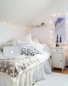 Bedroom Girl Small, Bedroom Ideas for Girls Teenage, Sisters Bedroom Ideas Teenage, Girls Bedroom Walls, Cute Girl Bedroom Ideas